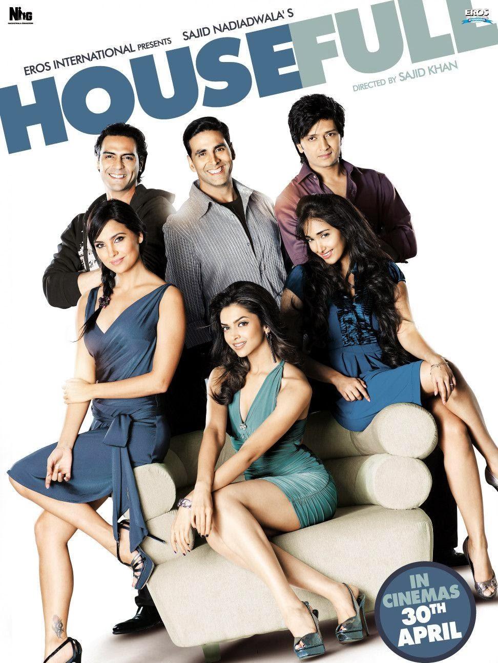 Housefull (2010) Hindi Movie 400MB