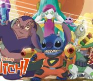 Stitch and the Planet of Sand (2012)