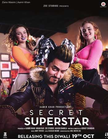 Secret Superstar 2017 Hindi 300MB HDTC 480p