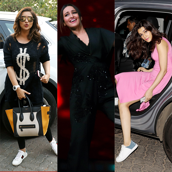 Sonakshi Sinha, Parineeti Chopra and Kriti Sanon's AWKWARD pictures cannot be missed