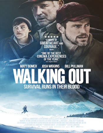 Walking Out 2017 English 350MB BRRip 720p ESubs HEVC